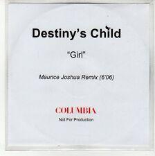 (EQ172) Destiny's Child, Girl - DJ CD