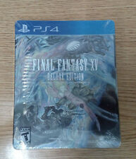 ** Final Fantasy 15 Deluxe Edition ~ PlayStation 4 ~ Brand New + Sealed (B)