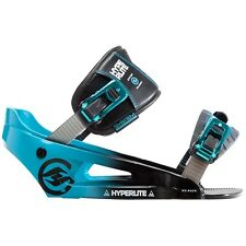 HYPERLITE THE SYSTEM LOWBACK WAKEBOARD BINDINGS L/XL