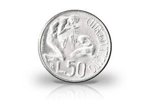 50 Lire 1991 Vatican Pape Johannes Paul Ii. Baptême