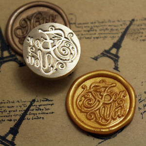 For You Words Initial Letter Sealing Wax Seal Stamp Classic vintage style Kit