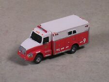 N Scale 2012 Red & White Volvo Fire Heavy Rescue Truck., 35008