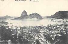 Bahia de Botafogo Rio de Janeiro Brazil  Antique Postcard L2417