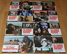 LA LUNGA SPIAGGIA FREDDA set 8 fotobuste poster Robert Hoffmann Mara Maryl BY43
