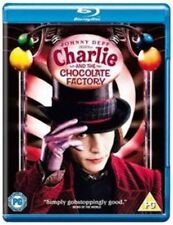 Charlie and The Chocolate Factory BLURAY 2005 Region DVD