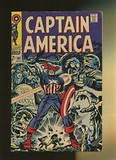 Captain America 107 FN 6.0 * 1 Book * 1st Doctor Faustus! Stan Lee & Jack Kirby!