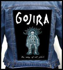 GOJIRA - The Way of All Flesh --- Giant Backpatch Back Patch