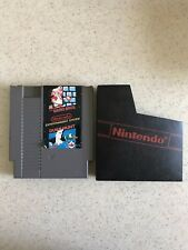 Super Mario Bros. / Duck Hunt Nintendo NES 1985 With Sleeve Cover