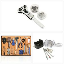 Watch Repair Tool Kit Watchmaker Set Back Case Cover Opener Remover Spring Pin