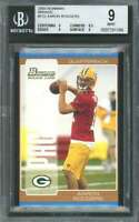 Aaron Rodgers Rookie Card 2005 Bowman Bronze #112 Packers BGS 9 (9 8.5 9 9)