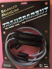Transparent Audio Balanced MusicLink Interconnect 1.5m Pair(BML1.5)