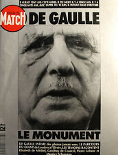 PARIS MATCH - 2143H - HORS SERIE - 1990 - de gaulle, le monument