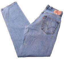 LEVI'S Mens 550 Jeans W32 L36 Blue Cotton Relaxed  FD01