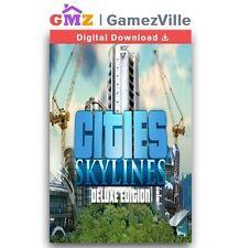 Cities: Skylines Deluxe Edition Steam Key PC Digital Code [EU/US/MULTI]