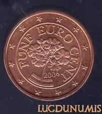 Autriche 2006 5 Centimes D'Euro SUP SPL Pièce neuve de rouleau - Austria