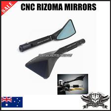 2x CNC Motorcycle Rear view Side Mirrors Kawasaki Z1000 Z750 ER-6F & ER-6N