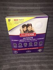 Allerease Ultimate Allergy & Bed Bug zippered Mattress Protector full Size