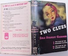 ERLE STANLEY GARDNER Two Clues FIRST EDITION