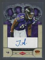 2012 Crown Royale Rookie Signatures  AUTO  /99  #98  TOMMY STREETER   RAVENS