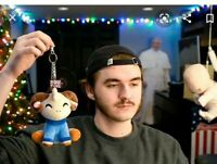 Youtooz Jschlatt Plush Keychain 6 inch IN HAND & READY (SOLD OUT & LIMITED) RARE