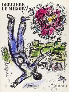 Marc Chagall, Le Bouquet de l'Artiste (cover) from Derriere Le Miroir No. 147 (C