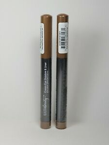 Ulta Beauty Cream Eyeshadow and Liner. Golden Opportunity. Size 0.05 oz (2 Pack)