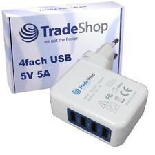 4-fach Mehrfachstecker 5A USB Netzteil für Samsung Galaxy S4 i9300 S5 SM-G900