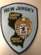 New Jersey  Police - USPIS  Newark NJ  Police Patch