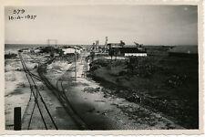 POINTE NOIRE 1937 - Vue du Chantier Travaux Chemin de Fer  - Congo  PCH 219