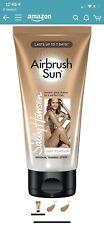 Sally Hansen Airbrush Legs Sun Gradual Tanning Lotion, Light To M Free Shipping!