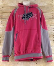 Fox Racing Mens XL Design Riders Co Cotton Polyester Hoodie Sweatshirt