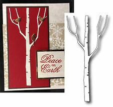 Tall Birch Tree metal die Memory Box cutting dies 98336 trees,nature,bare