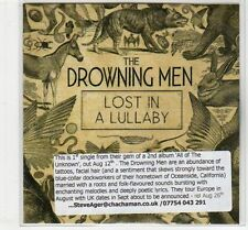 (EC434) The Drowning Men, Lost In A Lullaby - 2013 DJ CD