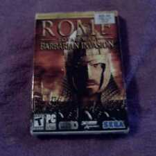 Rome Total War Barbarian Invasion EXPANSION PC CD ROM SIM GAME
