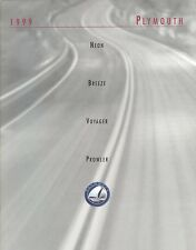 1999 Plymouth Neon Breeze Voyager Prowler 24 Page Dealer Sales Brochure