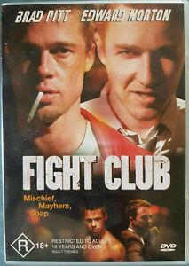 Fight Club DVD - SAME / NEXT DAY - FREE POSTAGE - FROM SYDNEY