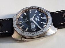 SEIKO SPORT 5 DIVER GENE KRANZ 6119-8460 BLACK DIAL VERY RARE WATCH VINTAGE 1971