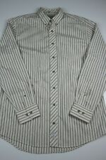 Cabelas Mens Button Down Shirt Size LT Striped Outfitter Series Long Sleeve