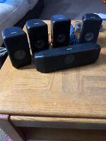 RCA 5 Piece Surround Sound Speakers