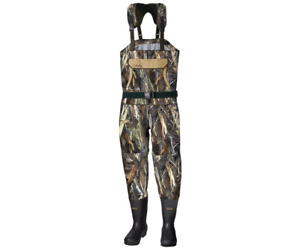 Cabela's Men's Breathable Dry Plus Chest Wader Max-5 Camo Size 13 Regular