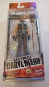"McFarlane AMC The Walking Dead TWD Grave Digger Daryl Dixon 5"" Action Figure S7"