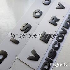 Land rover DISCOVERY 3D capó Letras Insignias Letras Gris Brunel 3 4 Trasero