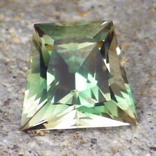 GREEN DICHROIC OREGON SUNSTONE 4.17Ct FLAWLESS-FOR TOP JEWELRY-AMAZING COLOR