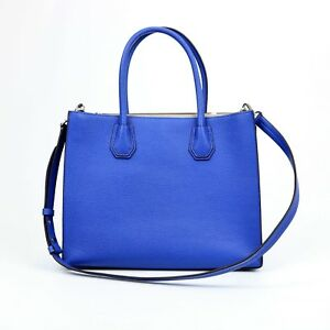 MICHAEL MICHAEL KORSMercer Large Leather ToteStyle# 30F6GM9T3L- Electric Blue