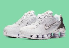"""Size 13 Nike Shox TL Total """"White Silver"""" (AV3595-100)"""
