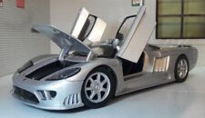 G LGB 1:24 Scale 2004 Silver V8 Saleen S7 Detailed Motormax Diecast Model Car