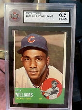 1963 Topps #353 Billy Williams KSA 6.5 EX-MT *GMCARDS* Chicago Cubs