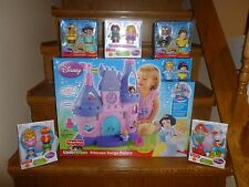Little People Disney Princess Songs Palace Castle Rapunzel Jasmine Ariel Friends