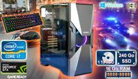 PC Gamer Core i7, GTX 1660 6 Go, 16Go Ram, 240 Go SSD, 1 To Disk Dur Windows 10