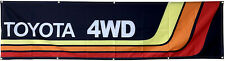 Toyota Flag Automotive Racing Stripe SUV 4WD 2X8FT Banner